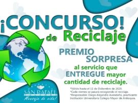 Concurso reciclaje Nov dic 2020