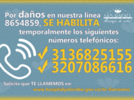 DAÑO LINEA TELFONOICA