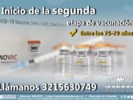 Vacunas segunda dosis