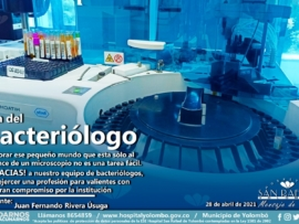 Foto destacada Bacteriologo 2021