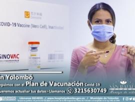 PLAN DE VACUNACION Yolombó