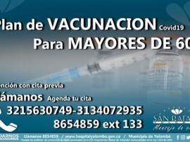 Plan Vacunacion mayores 60 Foto destacada